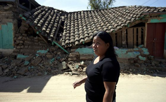 Наслідки землетрусу в Гватемалі