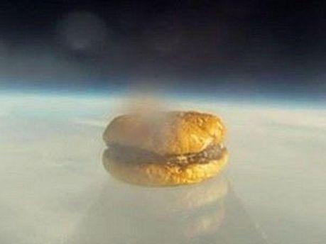 Гамбургер в космосі