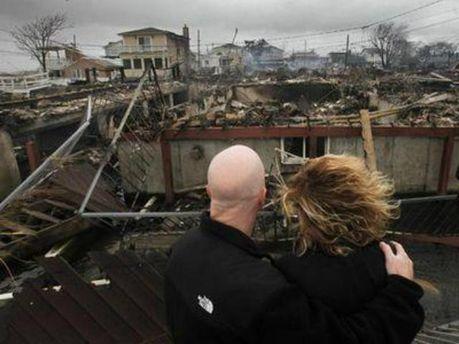 Последствия урагана Сэнди