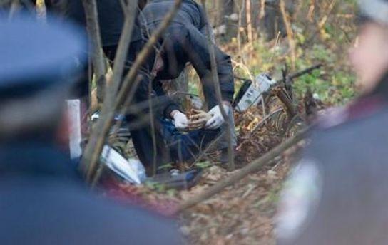 Місце, де знайшли тіло Ярослава Мазурка