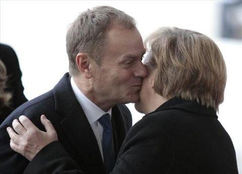 Дональд Туск і Ангела Меркель