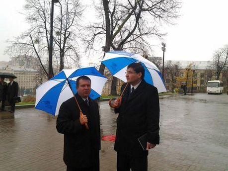 Прокуроры под дождем