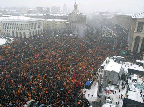 Майдан Незалежності, 2004 рік