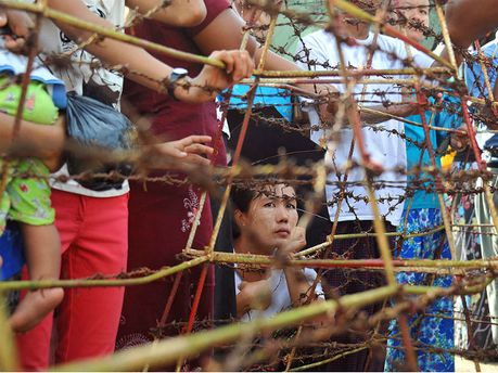 Тюрьма в Мьянме