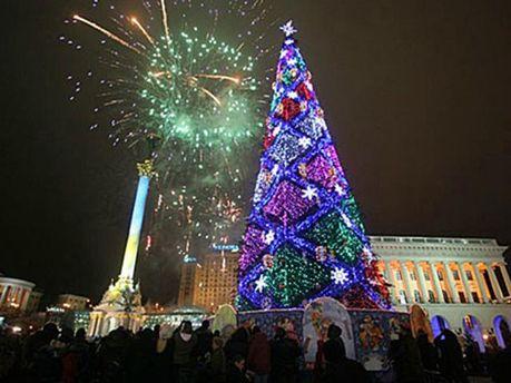 Новогодняя елка 2012 года