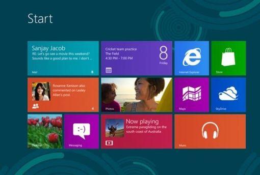 Интерфейс Windows 8
