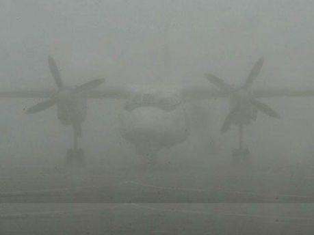 Літак у тумані