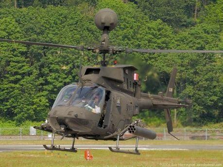 Вертолет Bell OH-58A