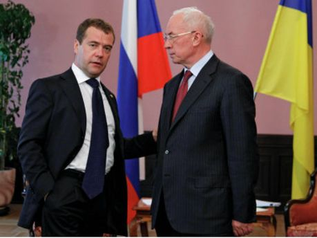 Микола Азаров та Дмитро Медведєв