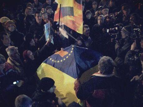 События на Майдане Незалежности