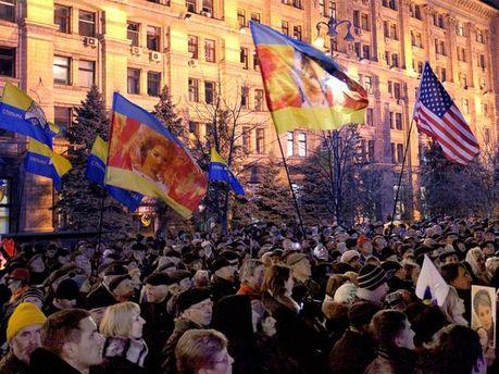 Празднование 8-й годовщины Оранжевой революции