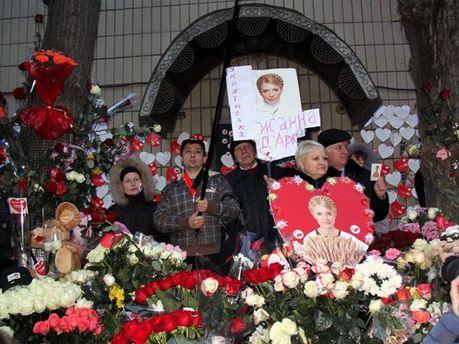 День народження Тимошенко під Лук'янівським СІЗО