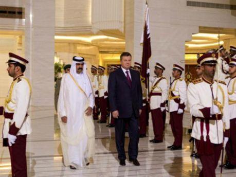Президент Виктор Янукович в Катаре