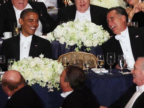 Обама і Ромні