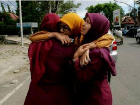 Индонезию всколыхнуло землетрясение