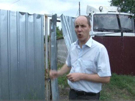 Андрій Парубій у Врадіївці