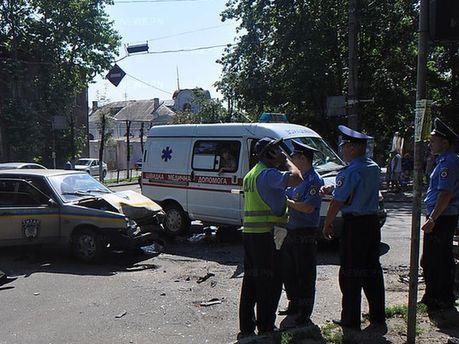 Авария в Николаеве