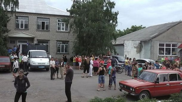 Відділення міліції у Врадіївці