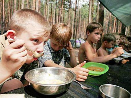 Діти в таборі