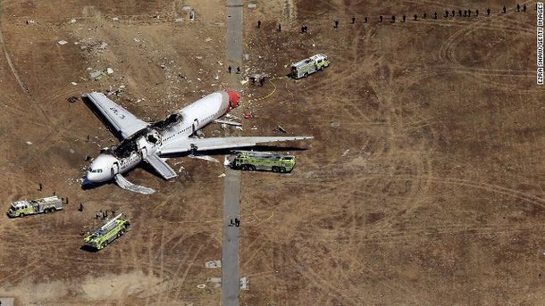 Аварія літака у Сан-Франциско