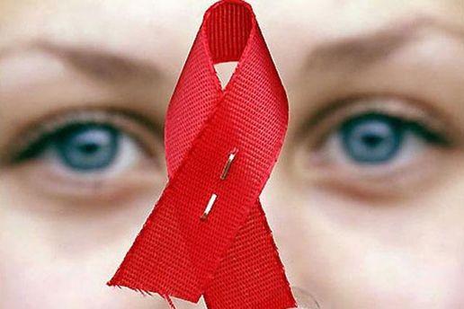 Красная лента - символ поддержки ВИЧ-инфицированных