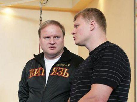 Владимир Хрюнов и Александр Поветкин