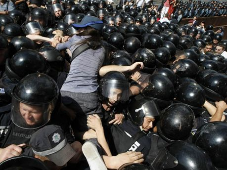 """Протест проти """"Мовного закону"""""""