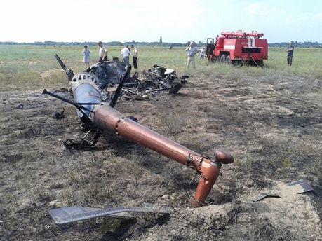 Разбился вертолет МІ-2