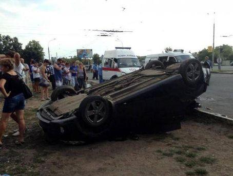 Аварія у Харкові