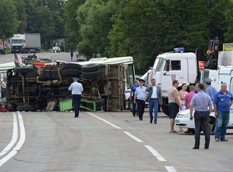 ДТП под Москвой