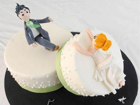 Молодожены развелись сразу на свадьбе