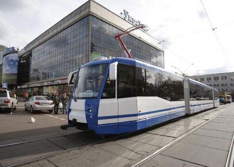 Трамвай у Києві
