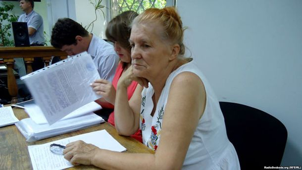 Раїса Радченко, мати Дарини