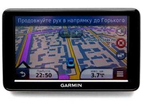 Навігатор Garmin Nuvi з картами