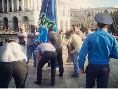 Правоохоронці відкрили громадську приймальню на Майдані