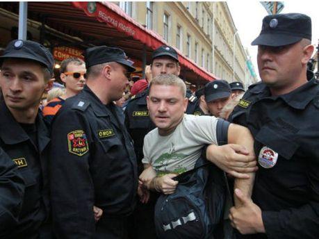 В России задержали 40 протестующих