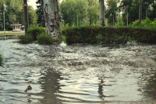 Затопленный парк