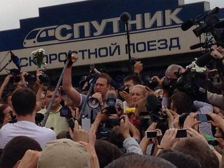 Олексій Навальний у Москві