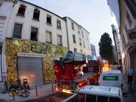 В тренировочном центре FEMEN произошел пожар