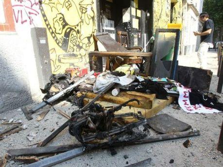 FEMEN розповіли нові подробиці пожежі у паризькій тренувальній базі