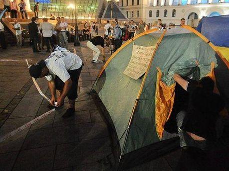 Врадиевцы на Майдане