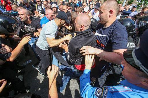 Бійка 18 травня, у яку не втручалася міліція