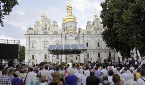 Начало литургии в Лавре сегодня
