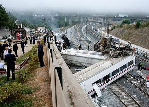 Трагедия в Испании