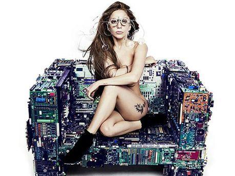 Промо-фото нового синглу Леді Ґаґи Applause