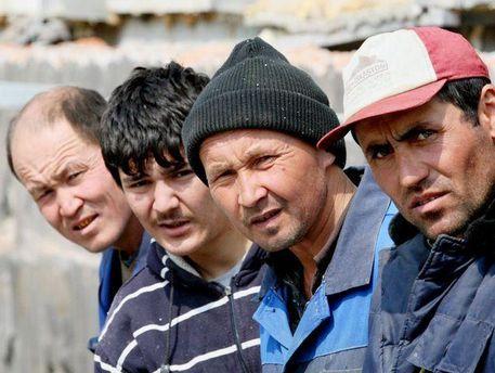 Мигранты в Москве