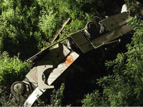 Авария автобуса на юге Италии