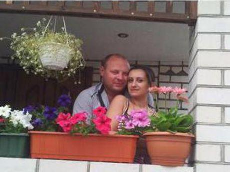 Евгений Дрыжак с девушкой