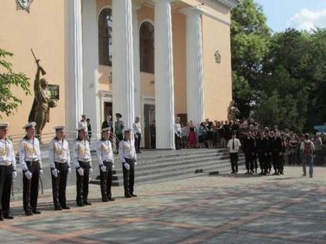 Похороны мэра Феодосии