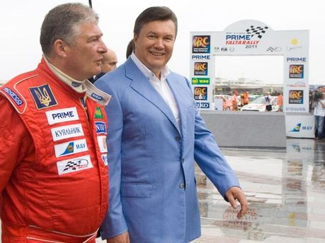 Виктор Янукович и Евгений Червоненко
